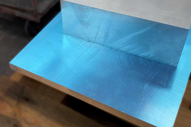 Aluminium Plate AlMg 3 50mm thick aluminium cast plate rolled plate blank